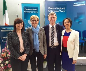 L-R: Aisling Nolan, Mairead McGuinness, Donie Cassidy and Mary Smith
